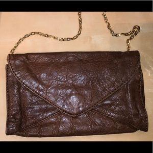 ANTONIO MELANI Leather clutch
